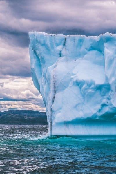 image of iceberg
