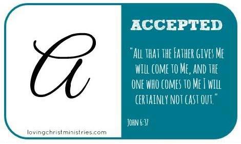 Letter A Scripture Prayer Card.