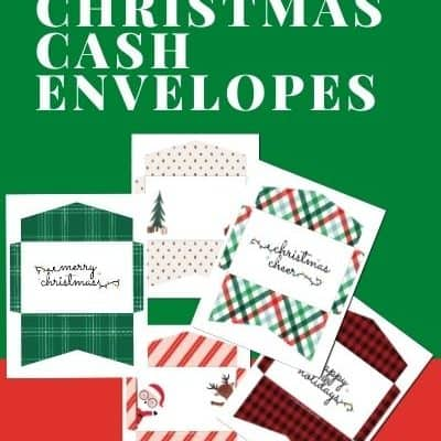 Free Printable Christmas Cash Envelopes