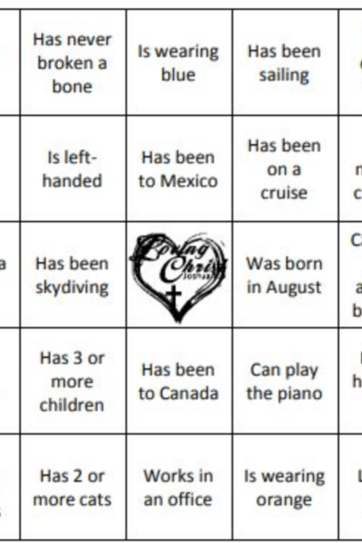 image of Get to Know You Bingo Icebreaker cards