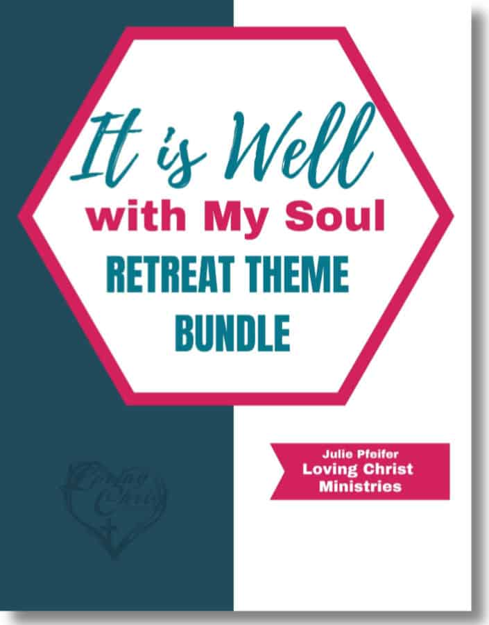 image of cover of It is Well with My Soul Free Christian Women's Retreat Theme