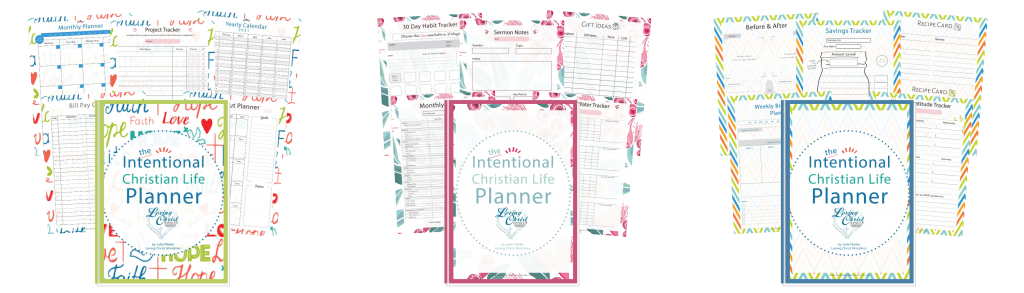 Intentional Christian Life Planner