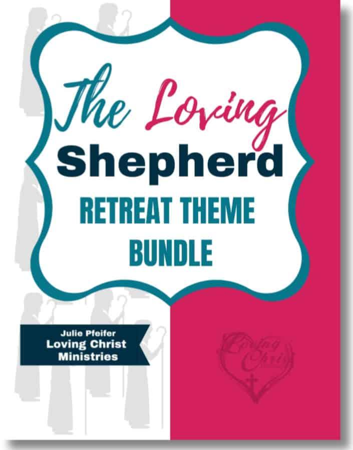 The Loving Shepherd Christian Women's Retreat Theme Cover