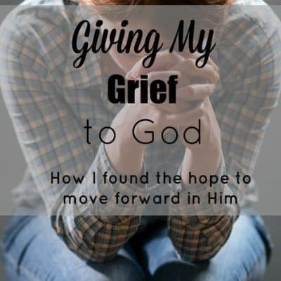 Giving My Grief to God