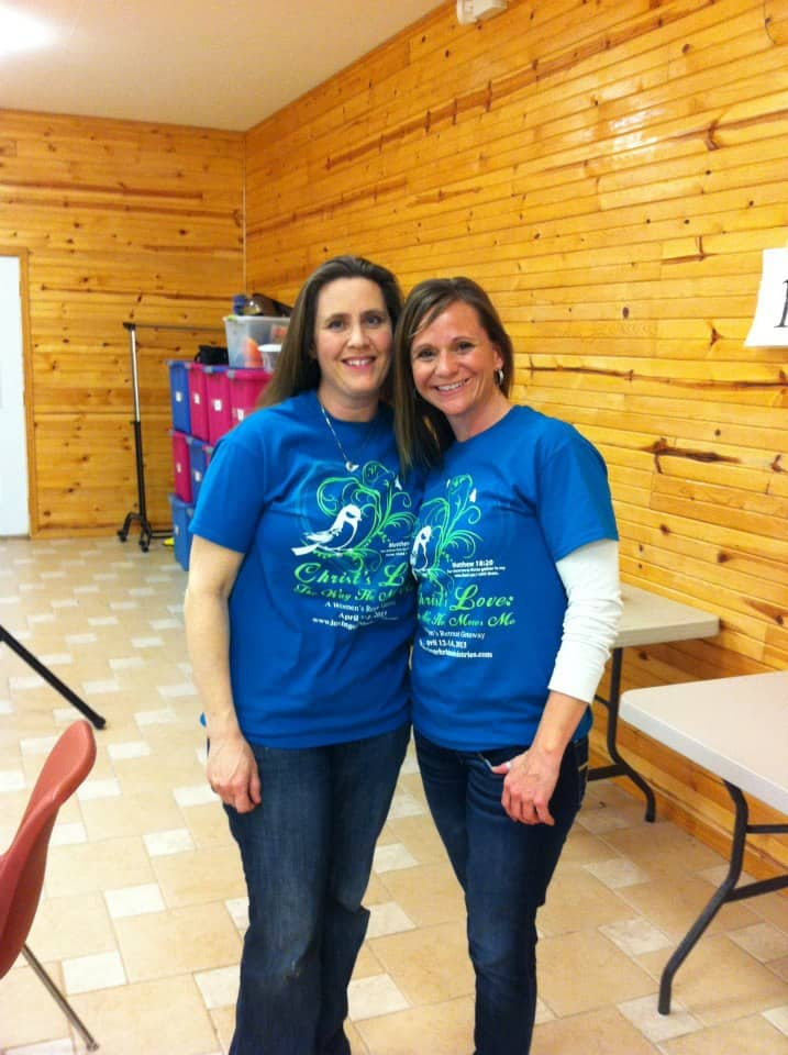 image of Julie and Brooke from Loving Christ Ministries