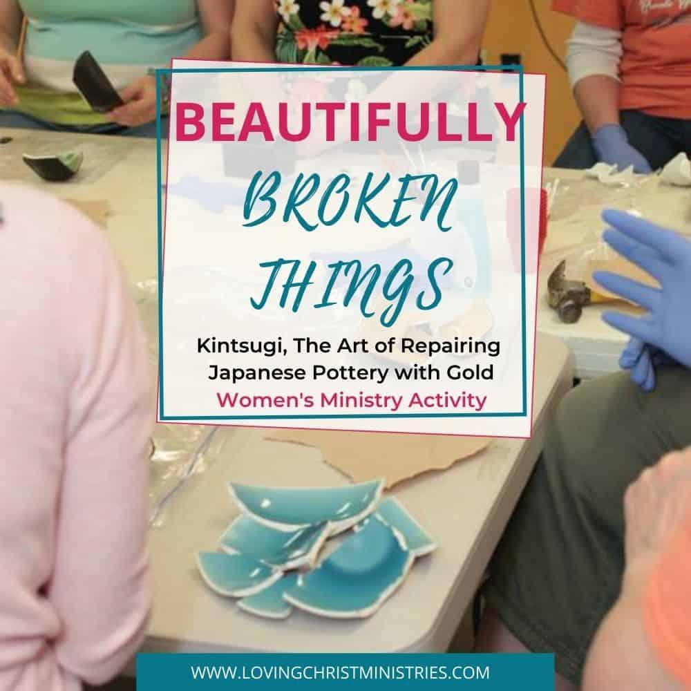 Beautifully Broken Things | Kintsugi - Repairing Japanese Pottery - women creating Kintsugi
